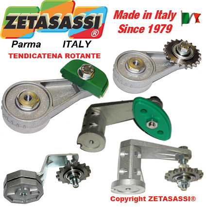 ROTARY CHAIN TENSIONER