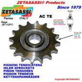 HARDENED TEETH SPROCKETS ACTE WITH BEARING