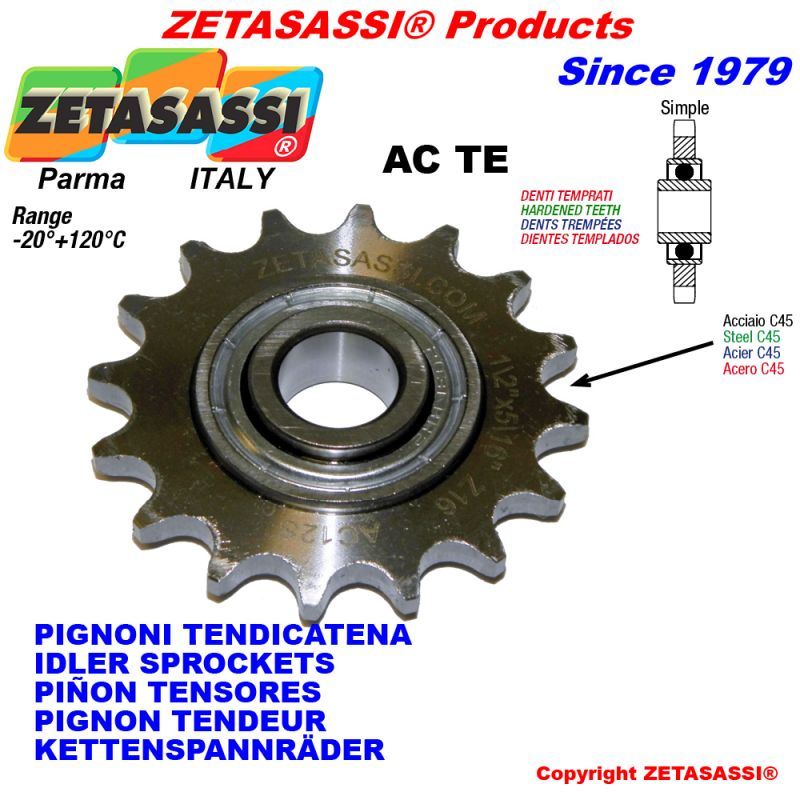 HIGH QUALITY Idler Steel Sprockets with Inner Bearing CHALLENGE