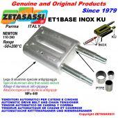 TENSOR AUTOMATICO LINEAL ET1 BASE INOX KU sin cabeza (casquillos PTFE) Newton110:240