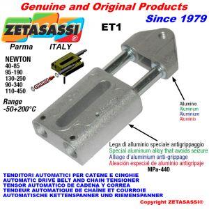 TENDITORE AUTOMATICO LINEARE ET1 Con testa filettata Newton130:250-95:190-40:85-90:340-110:450