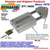 TENSOR AUTOMATICO LINEAL ET1 INOX con cabeza roscada Newton110:240