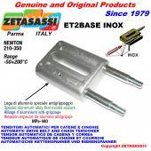 INOX SPRING TENSIONER ET2 BASE INOX out head Newton210:350