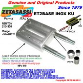 INOX SPRING TENSIONER ET2 BASE INOX KU out head (PTFE bushes) Newton210:350
