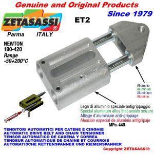 AUTOMATISCHE LINEAR SPANNER ET2 mit Gewindekopf Newton180:420