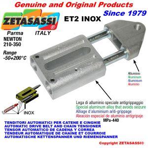 TENDITORE AUTOMATICO LINEARE ET2 INOX Con testa filettata Newton210:350