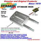 TENSOR AUTOMATICO LINEAL ET3 BASE INOX sin cabeza Newton250:450