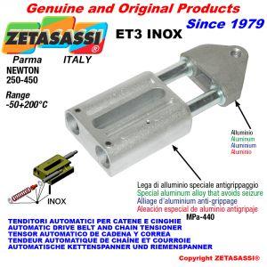 AUTOMATISCHE LINEAR SPANNER ET3 INOX mit Gewindekopf Newton250:450