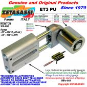 AUTOMATIC LINEAR BELT TENSIONER ET3 PU with belt roller Newton300:650