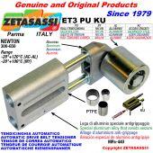 TENSOR DE CORREA AUTOMATICO LINEAL ET3 PU KU con rodillo tensor (casquillos PTFE) Newton300:650