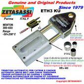 TENDITORE AUTOMATICO LINEARE ETH3 KU con forcella (Boccole PTFE) Newton300:650