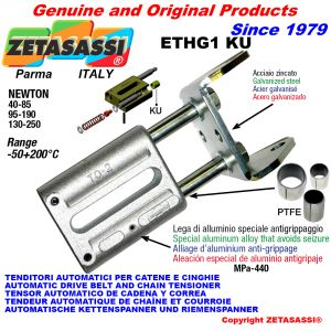 AUTOMATISCHE LINEAR SPANNER ETHG1 KU mit Gabel (PTFE Buchsen) Newton40:85-95:190-130:250