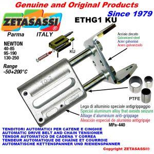 TENDITORE AUTOMATICO LINEARE ETHG1 KU con forcella (Boccole PTFE) Newton40:85-95:190-130:250