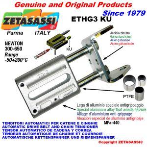 TENDITORE AUTOMATICO LINEARE ETHG3 KU con forcella (Boccole PTFE) Newton300:650
