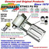 TENSOR DE CORREA AUTOMATICO LINEAL ETHG3PUKU con horquilla y rodillo tensor (casquillos PTFE) Newton300:650