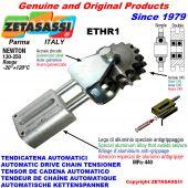 AUTOMATISCHE LINEAR KETTENSPANNER ETHR1 mit Gabel und Kettenräder - Kettenradsätze AC Newton130:250