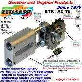 AUTOMATISCHE LINEAR KETTENSPANNER ETR1 AC TE mit verhärtetem Kettenräder - Kettenradsätze ACTE Newton130:250-95:190