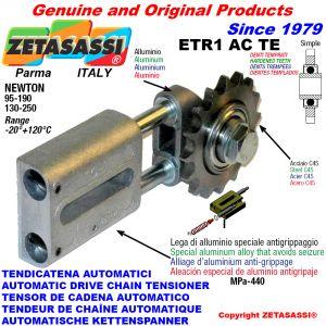 TENSOR DE CADENA AUTOMATICO LINEAL ETR1ACTE con piñón tensor endurecido ACTE Newton130:250-95:190