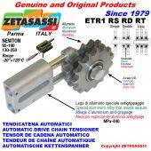 TENSOR DE CADENA AUTOMATICO LINEAL ETR1 con piñón tensor RS RD RT Newton130:250-95:190