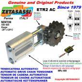AUTOMATISCHE LINEAR KETTENSPANNER ETR2 AC mit Kettenräder - Kettenradsätze AC Newton180:420