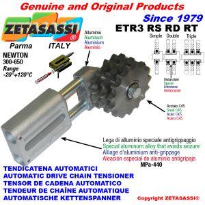 AUTOMATISCHE LINEAR KETTENSPANNER ETR3 mit Kettenräder - Kettenradsätze RS RD RT Newton300:650