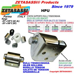 BELT TENSIONER ROLLER BRACKET