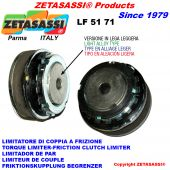 "LIGHT ALLOY TORQUE LIMITER ""LF 51-71"""
