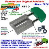 TENSOR DE CADENA AUTOMATICO LINEAL NT1 cabeza oval Newton130:250 con casquillos autolubricantes