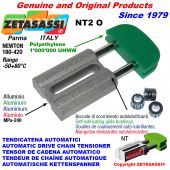 AUTOMATIC LINEAR DRIVE CHAIN TENSIONER NT2 oval head Newton180:420 with self-lubricating bushings