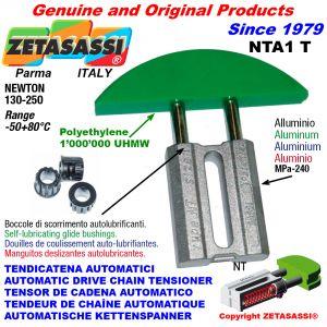 TENDICATENA AUTOMATICO LINEARE NTA1 testa ad arco tondo Newton130:250 con Boccole Autolubrificanti