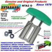 TENDICATENA AUTOMATICO LINEARE NTA2 testa ad arco ovale Newton180:420 con Boccole Autolubrificanti