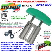 TENSOR DE CADENA AUTOMATICO LINEAL NTA2 cabeza a arco oval Newton180:420 con casquillos autolubricantes