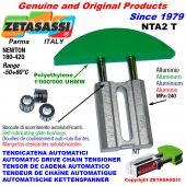 TENSOR DE CADENA AUTOMATICO LINEAL NTA2 cabeza a arco redondo Newton180:420 con casquillos autolubricantes