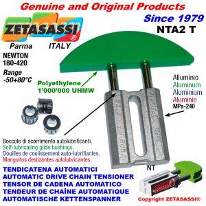 TENDICATENA AUTOMATICO LINEARE NTA2 testa ad arco tondo Newton180:420 con Boccole Autolubrificanti
