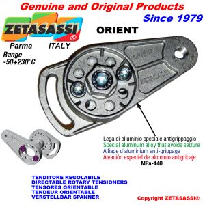 DIRECTABLE ROTARY TENSIONERS ORIENT with hole or threaded bore