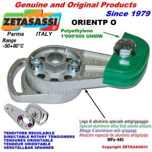 TENSOR DE CADENA ORIENTABLE ORIENTP con patin tensor cadena cabeza oval