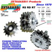 IDLER SPROCKET with bearings type RS-RD-RT