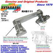 KETTENSPANNER ELEMENTE RHB111 mit Kettenräder und KettenRadsätze RS Newton10:120