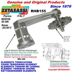 ELEMENTO TENSOR DE CADENA RHB155 con piñon tensor AC-RS Newton30:280