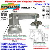 ELEMENTO TENDICATENA RHB277 con pignone tendicatena AC Newton80:1200