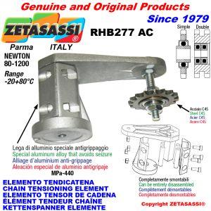 ÉLÉMENT TENDEUR DE CHAÎNE RHB277 avec pignon tendeur AC Newton80:1200