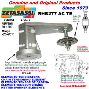 KETTENSPANNER ELEMENTE RHB277TE mit verhärtetem Kettenräder und KettenRadsätze ACTE Newton80:1200