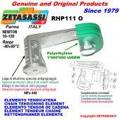 ELEMENTO TENSOR DE CADENA RHP111 con patin tensor cadena cabeza oval Newton10:120