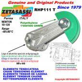 ELEMENTO TENSOR DE CADENA RHP111 con patin tensor cadena cabeza redonda Newton10:120
