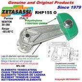 ELEMENTO TENSOR DE CADENA RHP155 con patin tensor cadena cabeza oval Newton30:280
