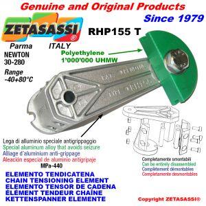 CHAIN TENSIONING ELEMENT RHP155 with chain slider round head Newton30:280
