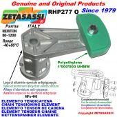 ELEMENTO TENSOR DE CADENA RHP227 con patin tensor cadena cabeza oval Newton80:1200