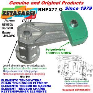ÉLÉMENT TENDEUR DE CHAÎNE RHP227 avec patin tendeur de chaîne tête ovale Newton80:1200