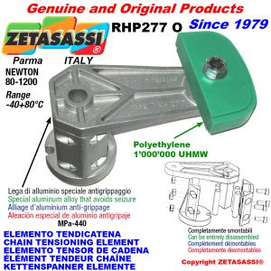 CHAIN TENSIONING ELEMENT RHP227 with chain slider oval head Newton80:1200