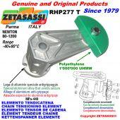 ELEMENTO TENSOR DE CADENA RHP227 con patin tensor cadena cabeza redonda Newton80:1200